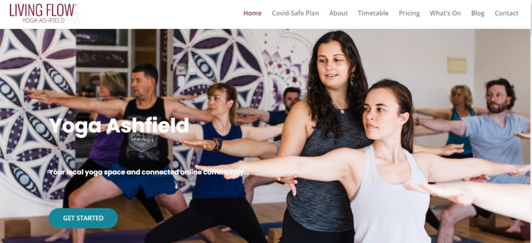 living flow yoga ashfield